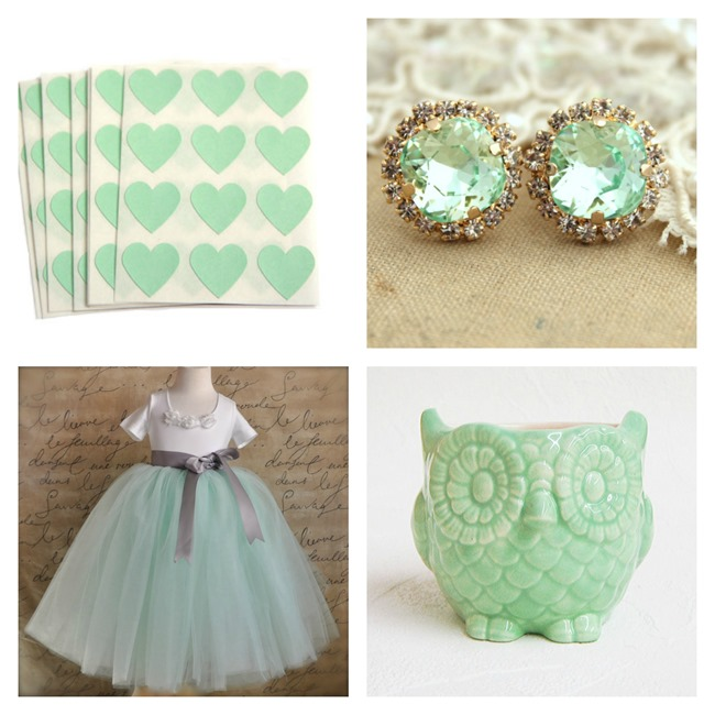 Mint Green on Etsy - EverythingEtsy.com