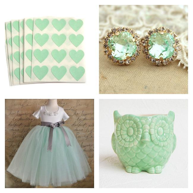 Mint Green on Etsy - EverythingEtsy.com