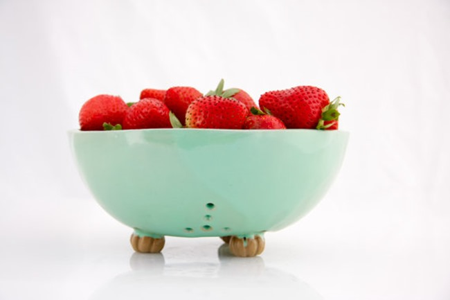 Mint berry bowl on etsy