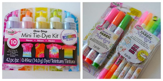 My tote bag supplies - Tulip Dye