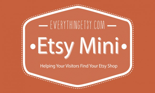 Help Visitors Find Your Etsy Mini