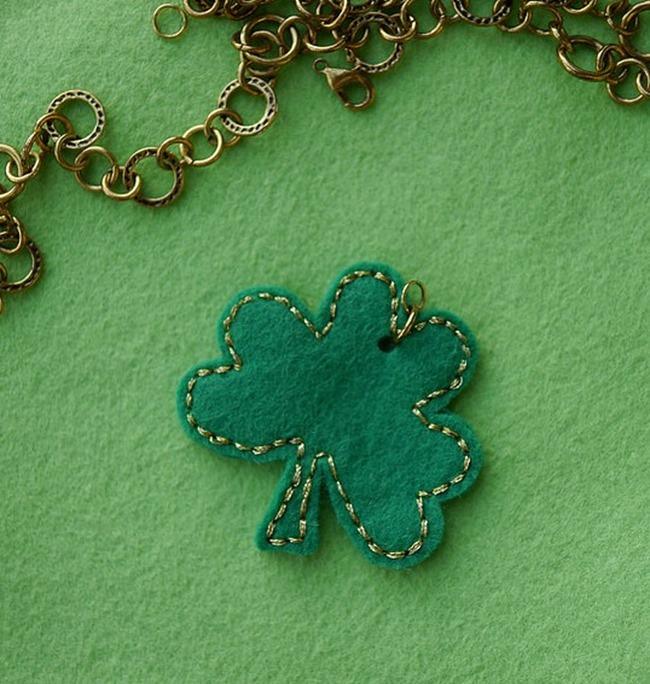 Shamrock Necklace Tutorial - Everything Etsy
