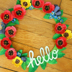 25 Spring Wreaths {DIY Home Decor}