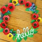 25 Spring Wreaths {DIY Home Decor}