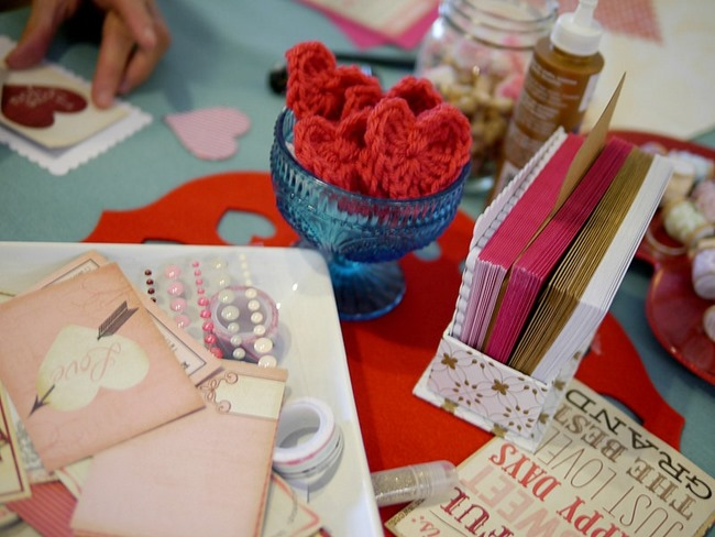 Valentine's Day Card Making with My Mind's Eye l EverythingEtsy.com