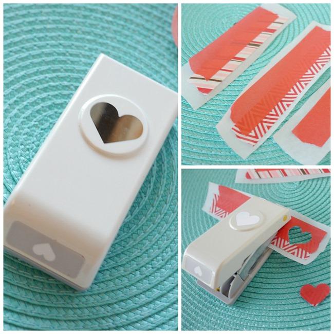 Eccezionale Washi Tape Heart Notebook Tutorial IT67