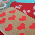 Washi Tape Heart Notebook Tutorial