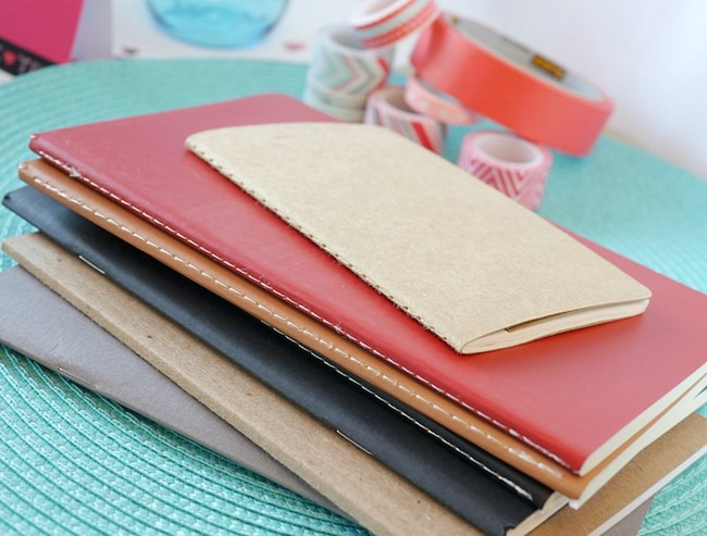 Washi Tape Notebooks - moleskins