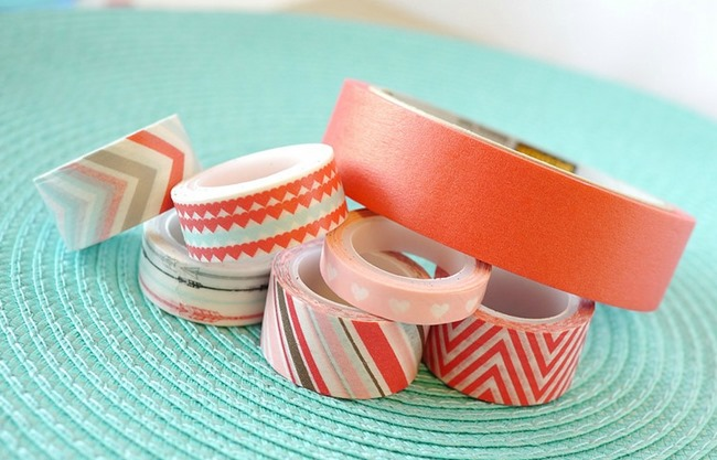 Washi Tape for Tutorial on EverythingEtsy.com