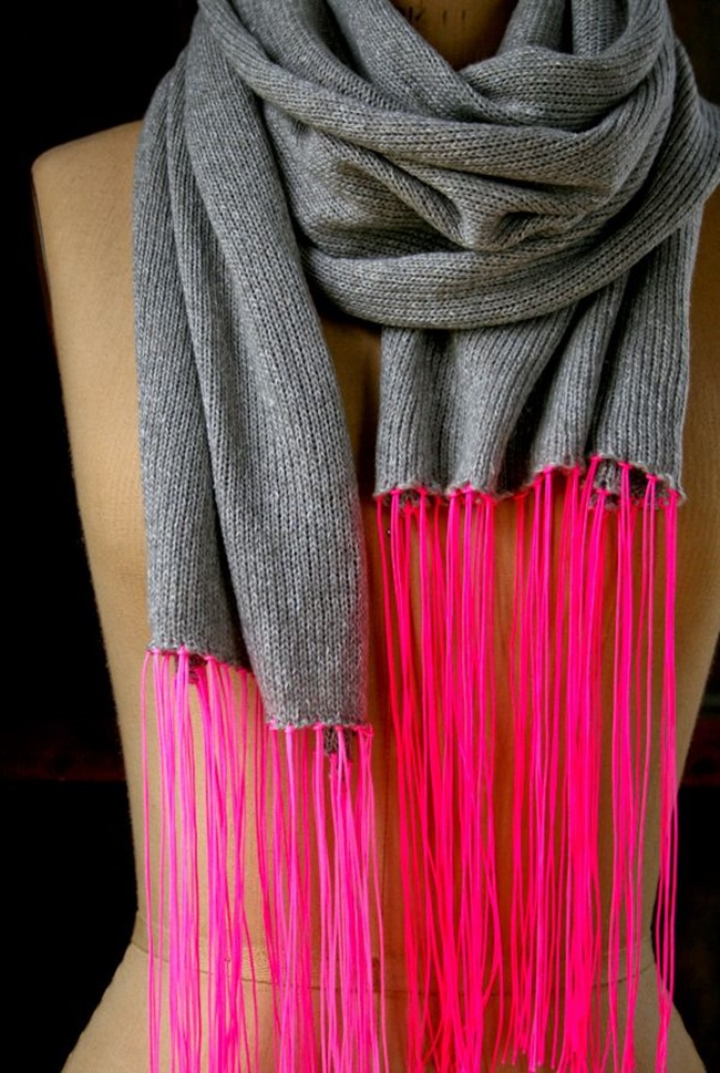 knit spring scarf pattern - Purl Bee