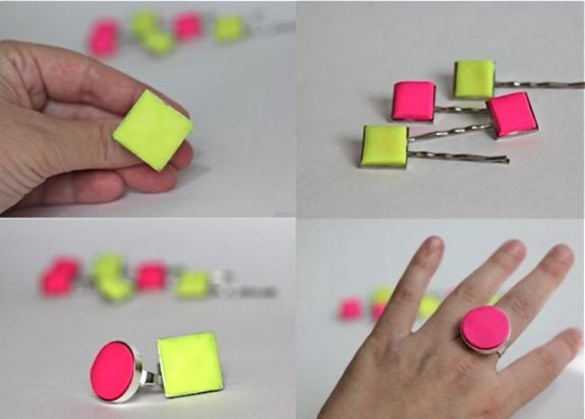 neon jewelry diy