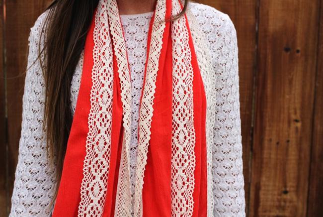 scarf pattern - a beautiful mess