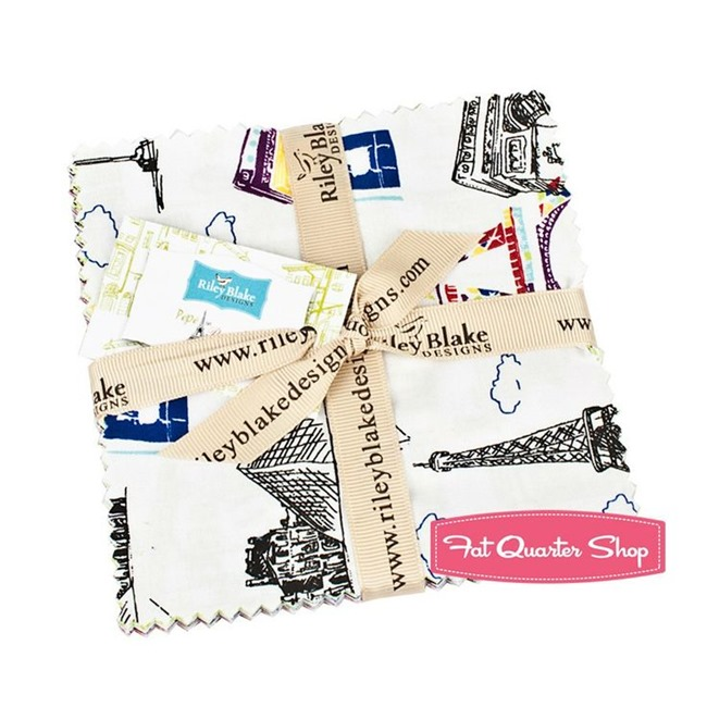 Fabric Giveaway - charm pack - Fat Quarter Shop