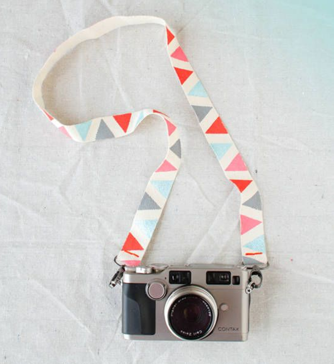 Geometric DIY Camera Strap - Design Love Fest