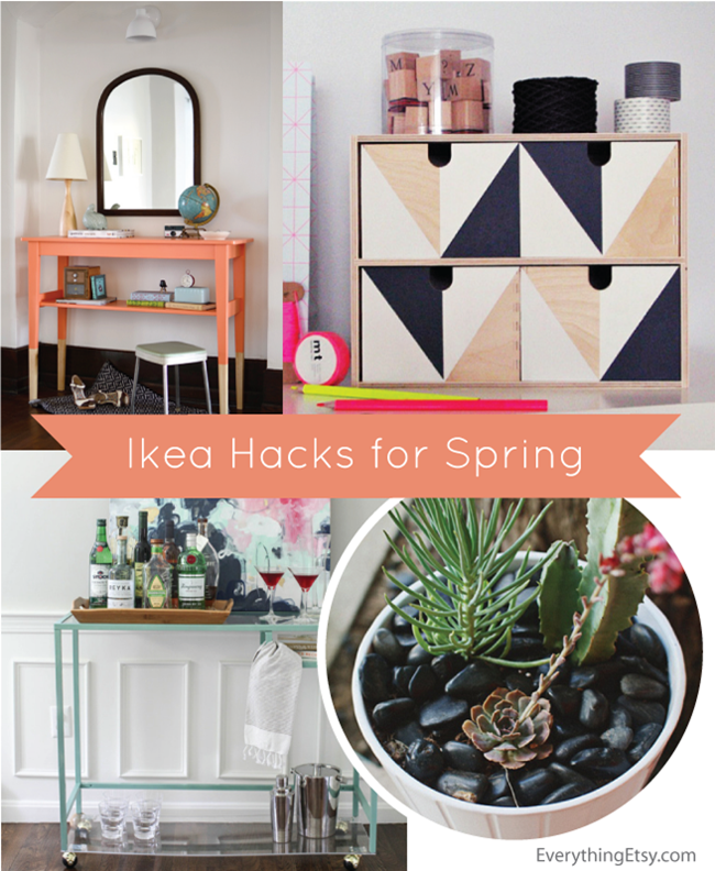 Ikea Hacks for Spring l EverythingEtsy