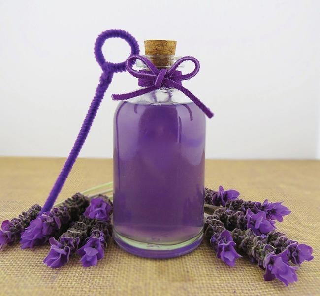 Lavender-Bubbles