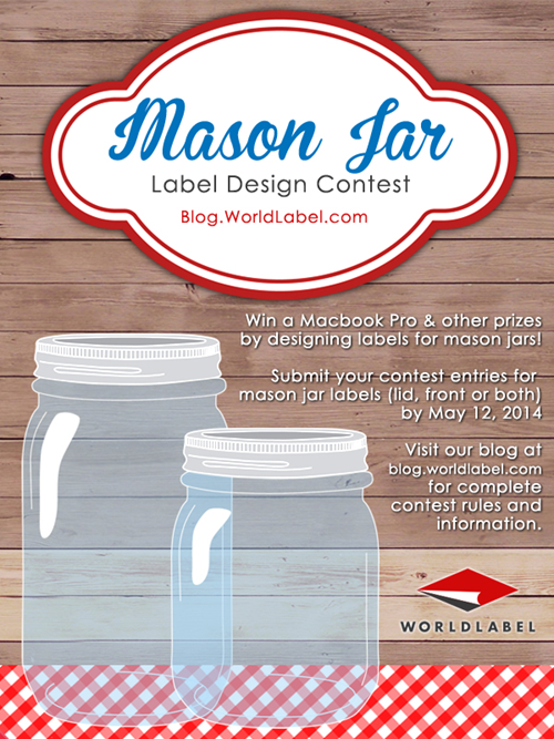 Mason Jar Contest l WorldLabel