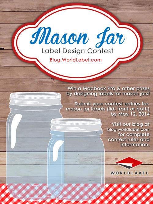 Mason Jar Contest l WorldLabel