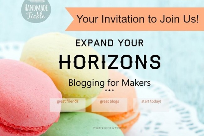 Your Invitation to Join Us on Handmade Tickle!