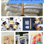 25 DIY Wedding Favors