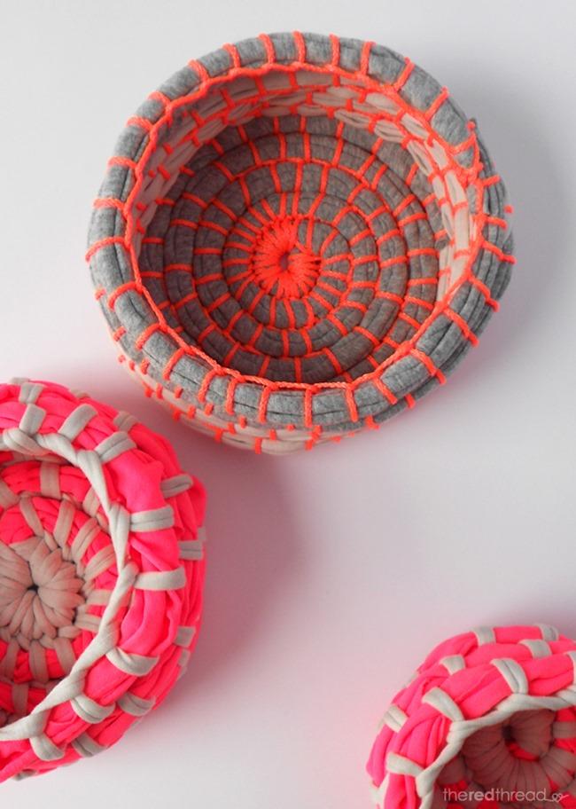 diy desk ideas - bowls