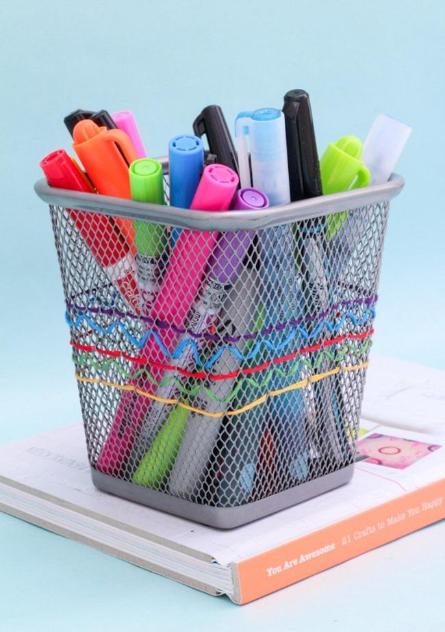 10 Diy Ideas To Organize Your Desk Everythingetsy Com