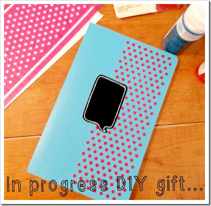 diy gift notebooks