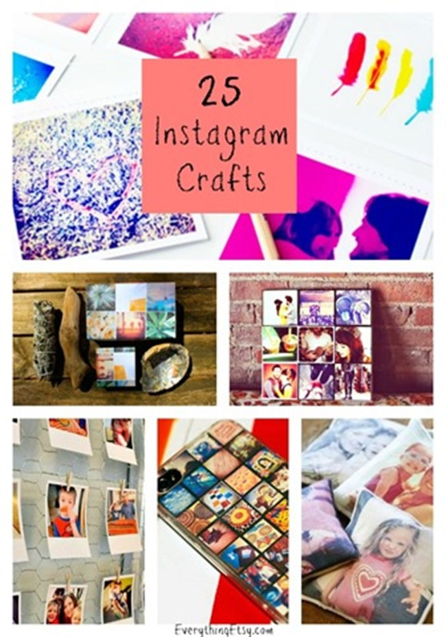 25 Instagram Craft Ideas