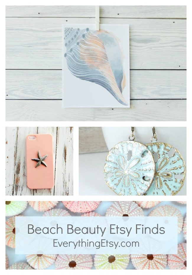 Beach Beauty Etsy Finds on EverythingEtsy.com