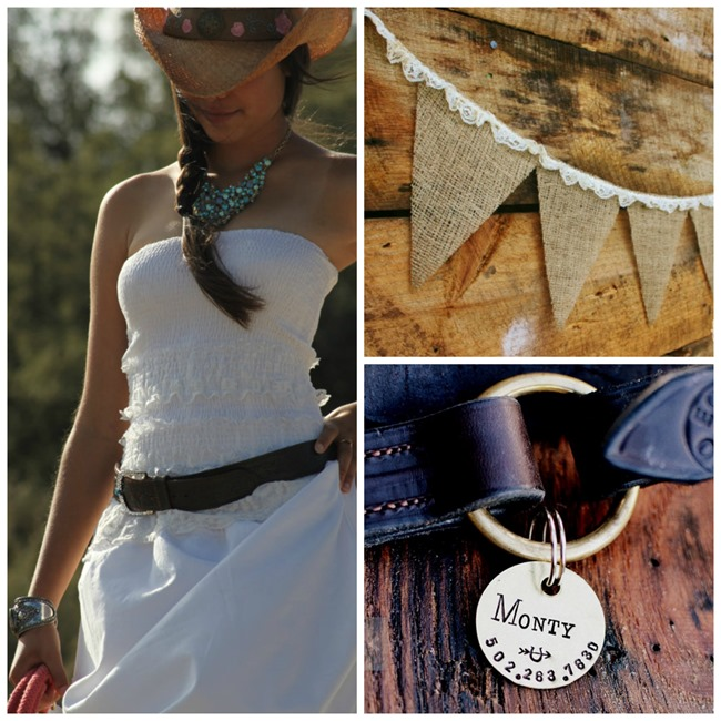 Country Wedding Ideas - Handmade on Etsy - EverythingEtsy.com