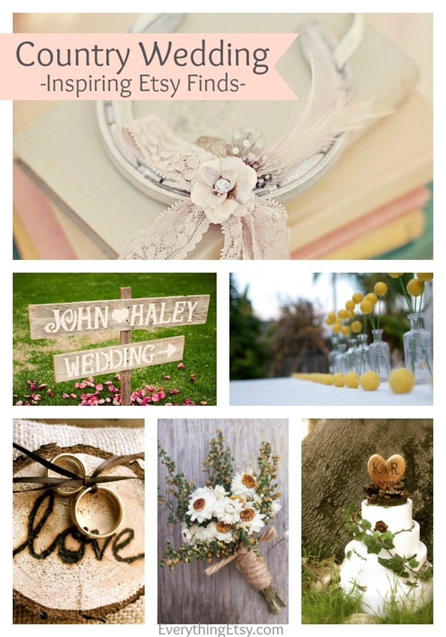Country Weddings - Handmade on Etsy - EverythingEtsy.com