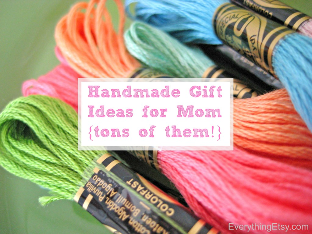 DIY Gifts For Mom Source Image Everythingetsy