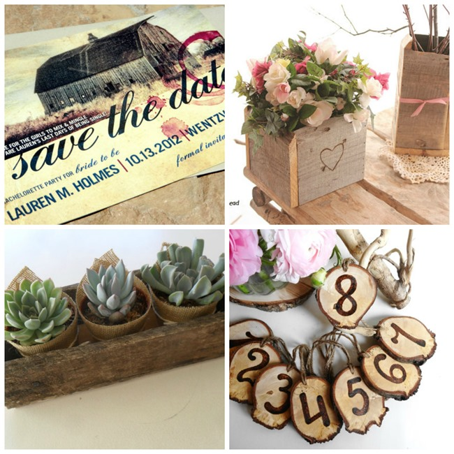 Handmade Weddings - Country Style - EverythingEtsy.com