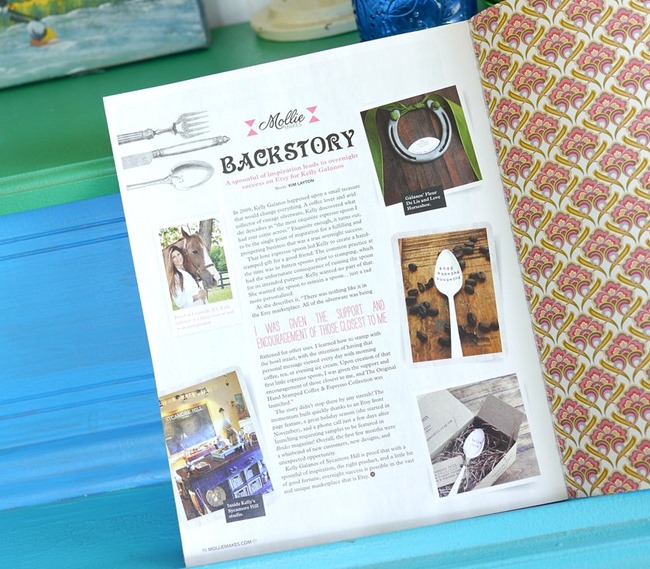 Sycamore Hill Backstory - Mollie Makes Magazine