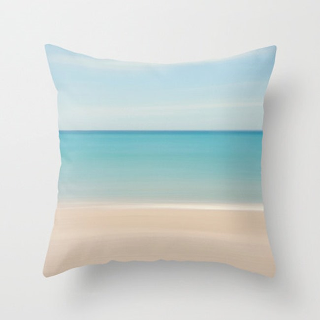 beach decor on Etsy - pillow