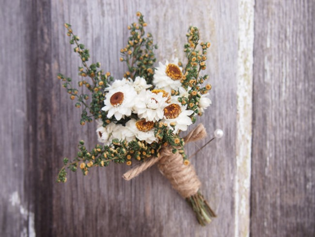 country wedding - handmade on etsy - for him