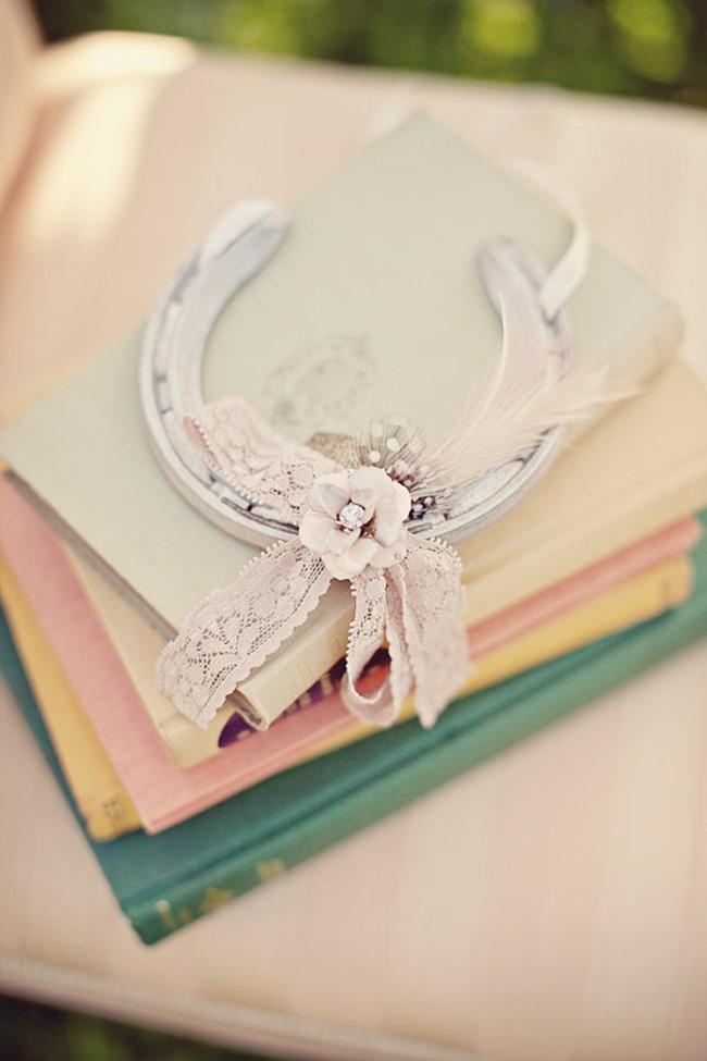 country wedding - handmade on etsy - horseshoe