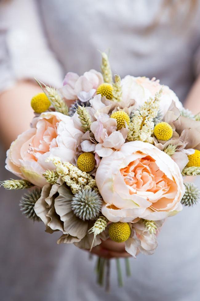 country wedding - handmade on etsy - wedding bouquet