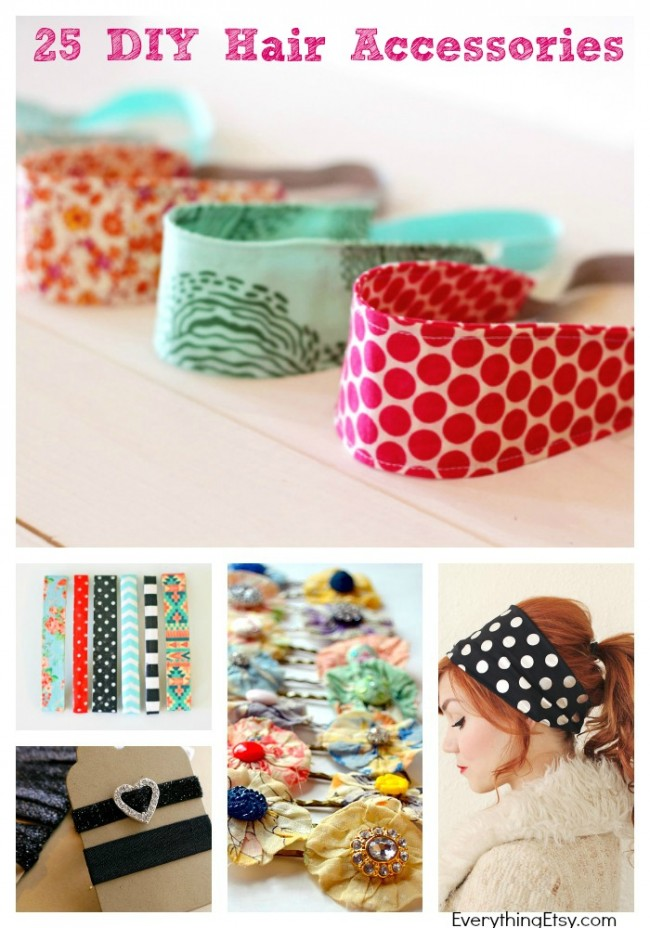 25 DIY Hair Accessories to Make Now! - EverythingEtsy.com