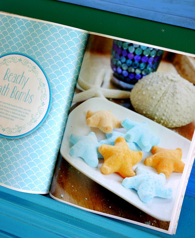 Beach Bath Bombs featured in Mollie Makes Magazine - EverythingEtsy.com