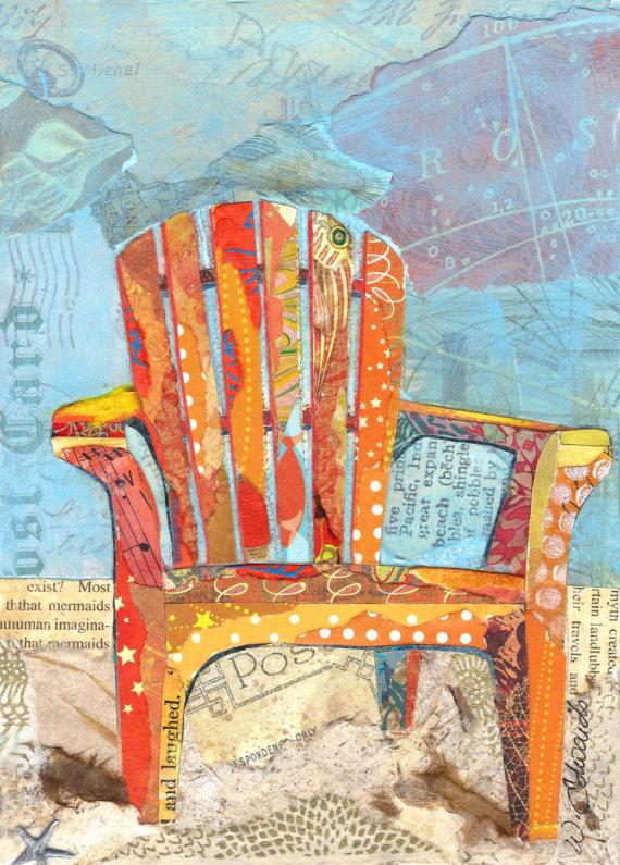 Beach Chair Notecards