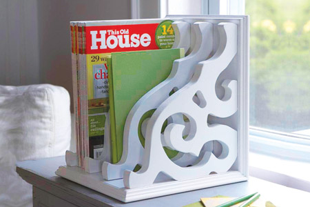 DIY Organize - Magazine Rack