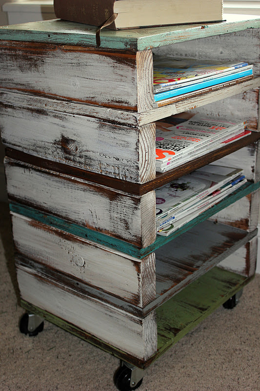 DIY Organize - Rolling Cart