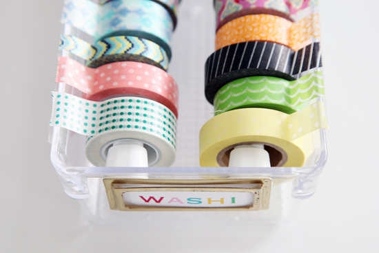 DIY Organize - Washi Tape