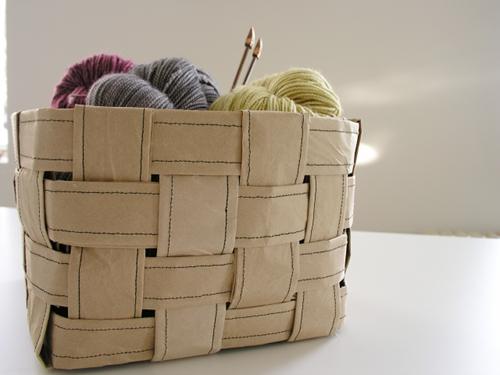 DIY Organize - paper basket