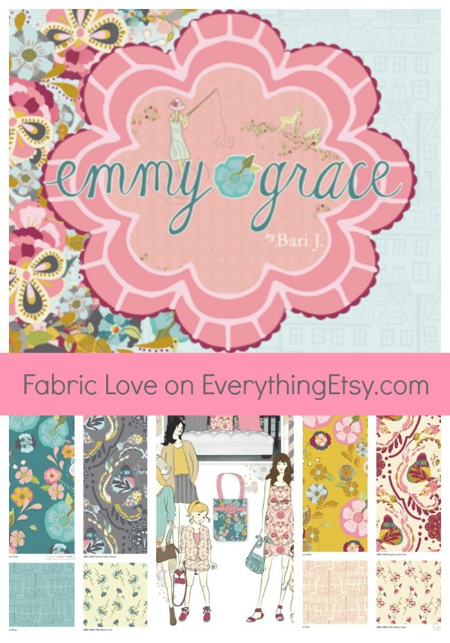 Emmy Grace Fabric - Bari J. on EverythingEtsy.com