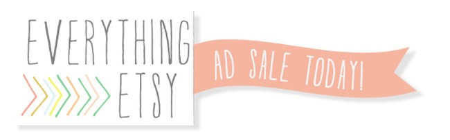 Everything Etsy Ad Sale Today
