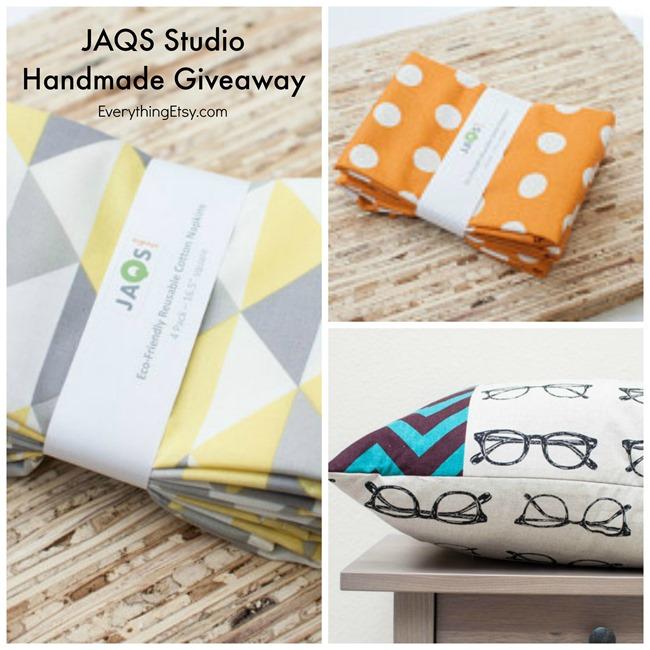 JAQS Studio Handmade Giveaway on EverythingEtsy.com