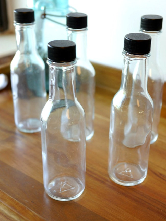 Lavender Water Tutorial - awesome bottles to use!  EverythingEtsy.com