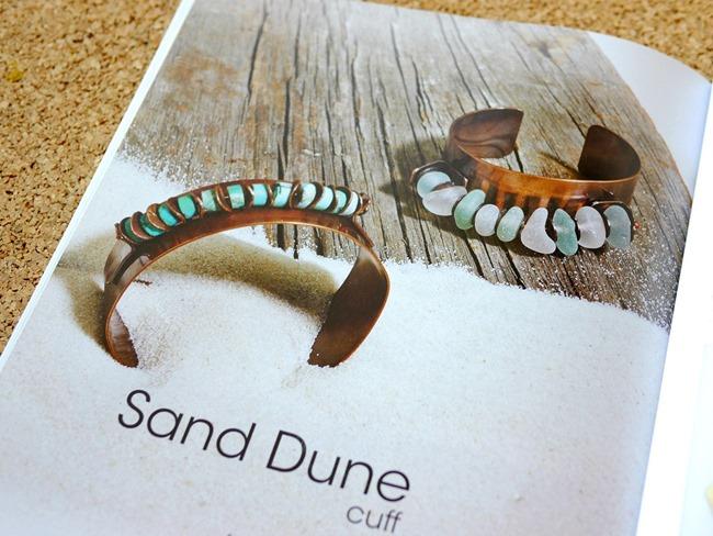 Organic Wire and Metal Jewelry - cuff